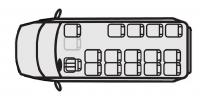 Микроавтобус Форд Транзит 222700 (16+0+1)