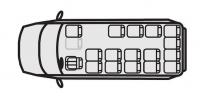 Микроавтобус Ford Transit 222700 (17+1+0)