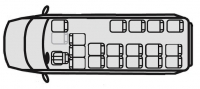 Автобус Ford Transit 222708 (19+3+1)