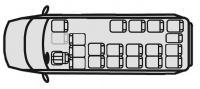 Маршрутный автобус Ford Transit 222709 (20+5+1)