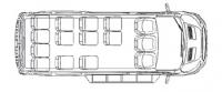 Микроавтобус Форд Транзит F22713 350 LWB
