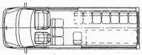 Ритуальный автобус Форд Транзит 460 EF 22273D