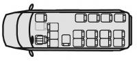 Маршрутное такси Форд Транзит 222702 (18+0+1)