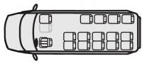 Микроавтобус Форд Транзит 222709 (16+9+1)