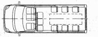 Ритуальный микроавтобус Ford 350 LWB 22273C