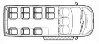 Ford Transit автобус школьный TST41C-201 (11+2+1)