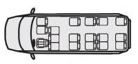 Автобусы Форд Транзит 222709 (17+8+1)